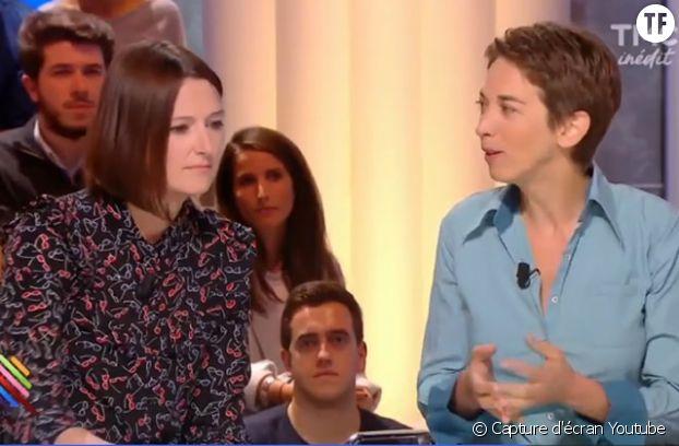 La journaliste Valentine Oberti (à gauche) interviewe Odile Fillod (à droite), invitée dans l'émission Quotidien (TMC) du 20 septembre 2016.