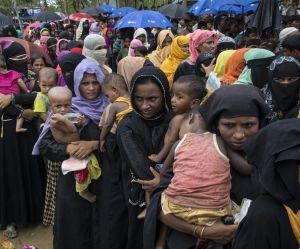 Rohingyas : plus de 80% des réfugiés sont des femmes et des enfants