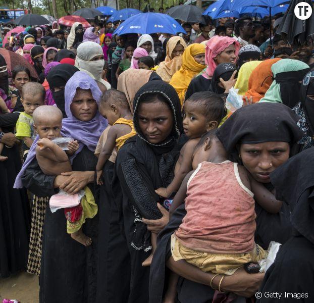 82% des réfugiés rohingyas sont des femmes et des enfants.
