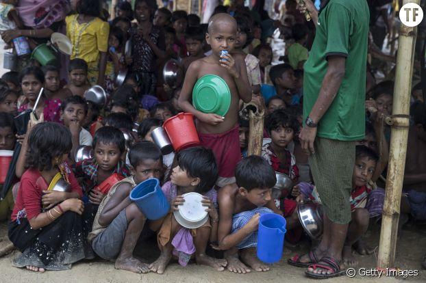 Plus de 80% des réfugiés rohingyas sont des femmes et des enfants.
