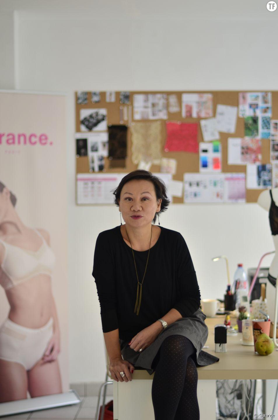 Portrait de Cécile Pasquinelli, créatrice de Garance