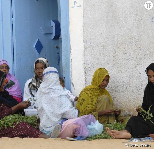 Photo d'illustration de femmes égyptiennes en train de préparer le repas, dans la ville d'Assouan.