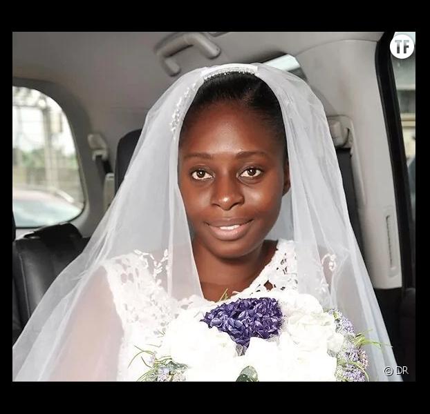 Cette mariée badass a dit oui sans maquillage