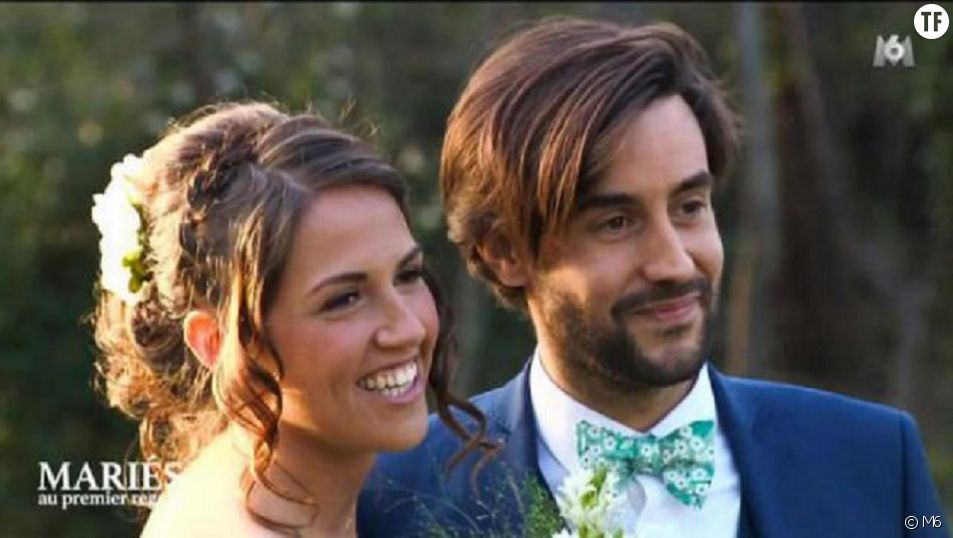 """Tiffany et Justin dans l'émission """"Mariés au premier regard"""", saison 1, 2016"""