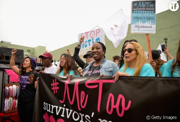 La manifestation contre le harcèlement et les agressions sexuelles