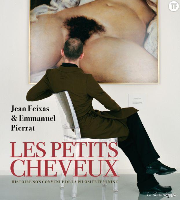 """La couverture du livre """"Les petits cheveux"""". Photo de Jean-Baptiste Mondino."""