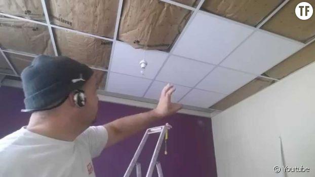 L'isolation d'un plafond.
