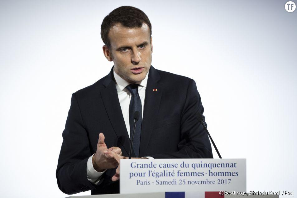 Violences faites aux femmes : le rendez-vous manqué d'Emmanuel Macron
