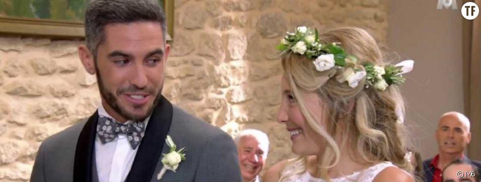 """Emma et Florian se sont passés la bague au doigt ce lundi 27 novembre dans l'émission """"Mariés au premier regard"""""""