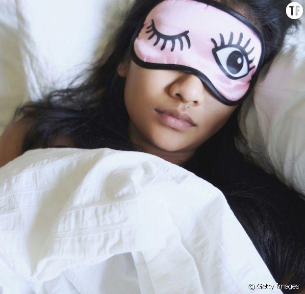 Photo d'illustration d'une femme endormie.