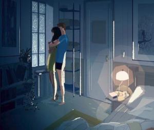 Cet artiste dessine son quotidien avec sa femme (et c'est très beau)