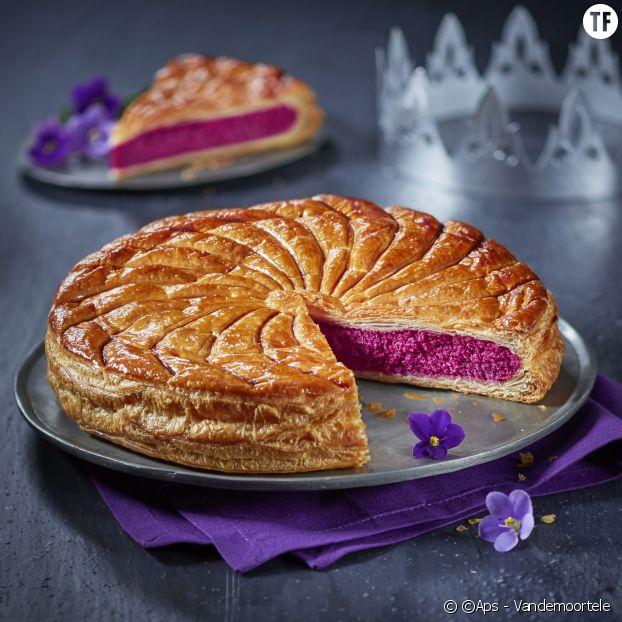 La galette à la violette