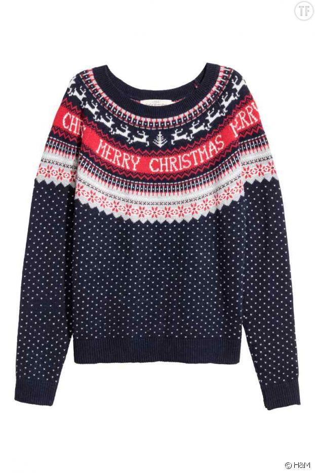 Un pull tradi chez H&M
