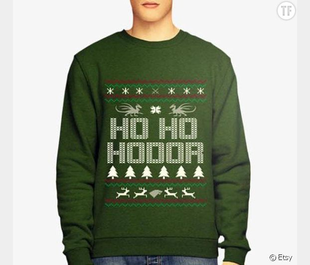 Pull de Noël Hodor de Game of Thrones
