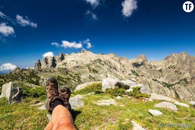 Photo d'illustration d'un moment tranquille dans les montagnes.