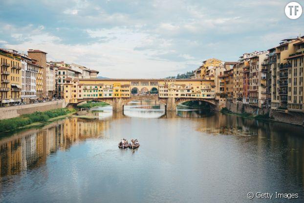 Le pont Vecchio de Florence, en Italie.