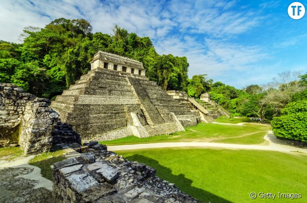 Un site Maya, au Mexique.