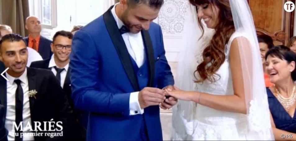 """Charlène et Florian se sont dit """"oui"""" dans """"Mariés au premier regard"""""""