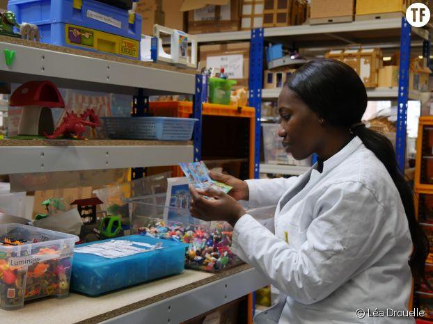 Adeymi, 38 ans, salariée de l'association Rejoué