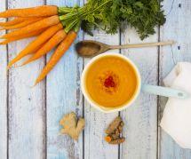 La succulente recette de soupe de carottes au gingembre