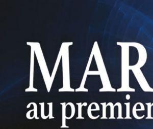 """Vicky et Laurent le jour de leur mariage, dans """"Mariés au premier regard""""."""