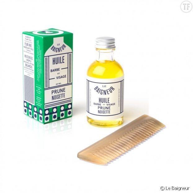 Huile de barbe Le Baigneur