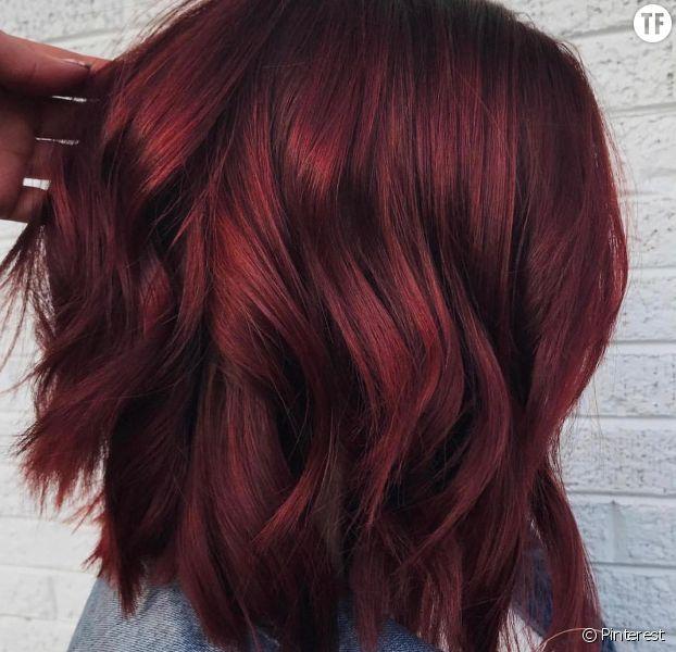 tendance coloration cheveux 2018