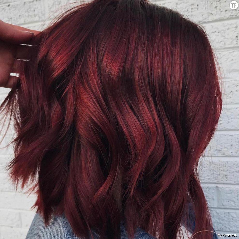 Extrêmement tendance 2018 : les cheveux vin chaud MX67