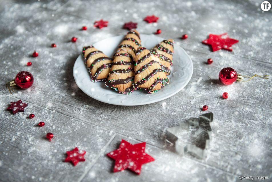 Réveillon 2017 : La recette des sablés de Noël au chocolat