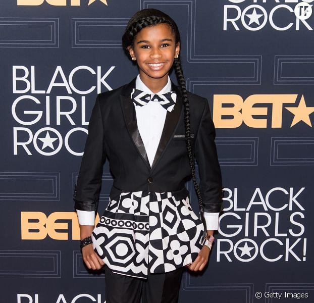 Marley Dias au BET Black Girls Rock, New Jersey, avril 2016.