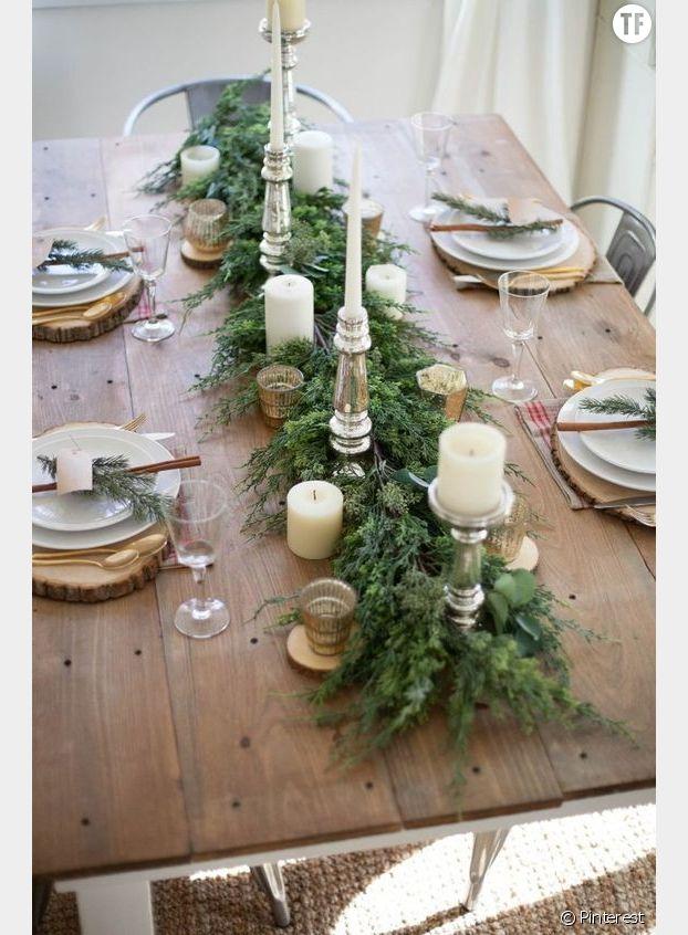Un centre de table végétal