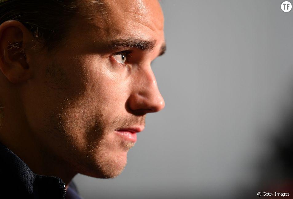 """Antoine Griezmann est dans la tourmente suite à l'affaire du """" blackface """"."""