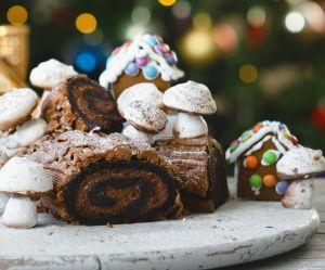 La recette facile de la bûche de Noël au chocolat