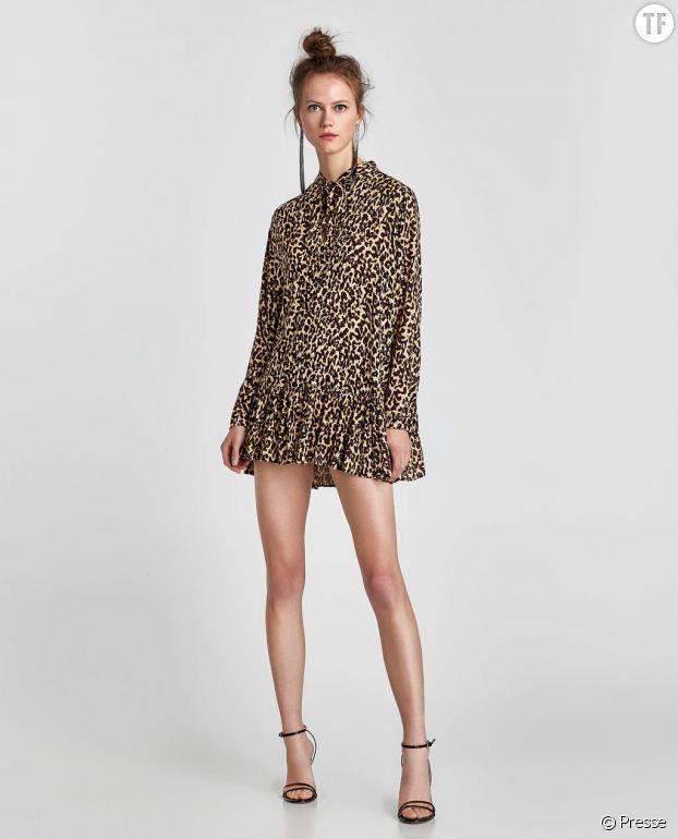 Robe léopard.