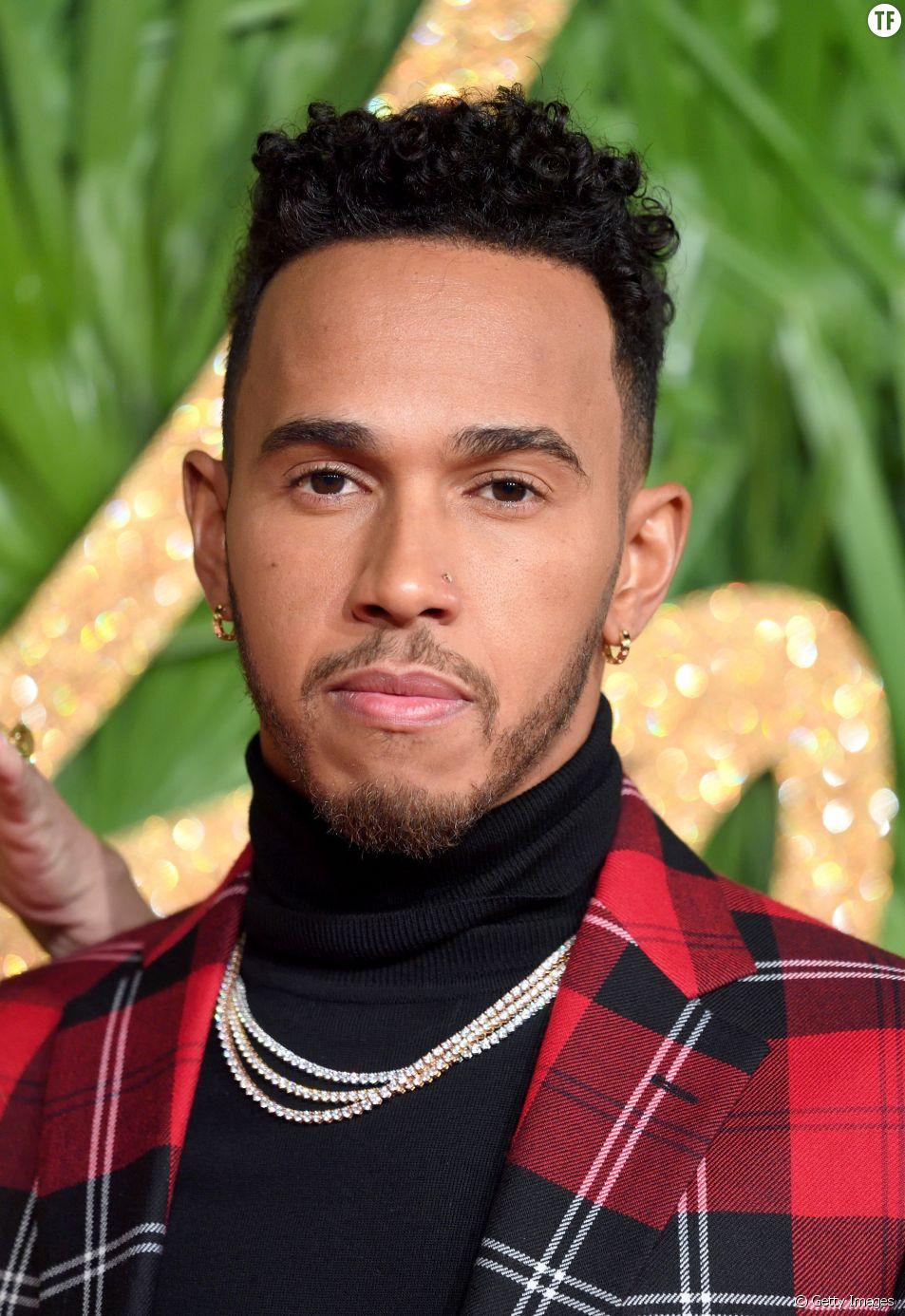 Lewis Hamilton, The Fashion Awards, Londres, 4 décembre 2017