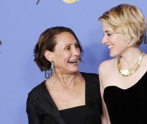 Laurie Metcalfe, Greta Gerwig et Saoirse Ronan, primées pour Lady Bird (Meilleur film, meilleure actrice)
