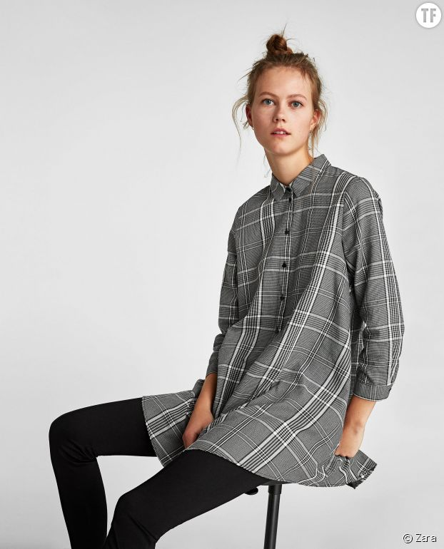 Populaires De Grise Zara Robe – Sxordtcbhq Robes Chemise Modèles k0w8OnP