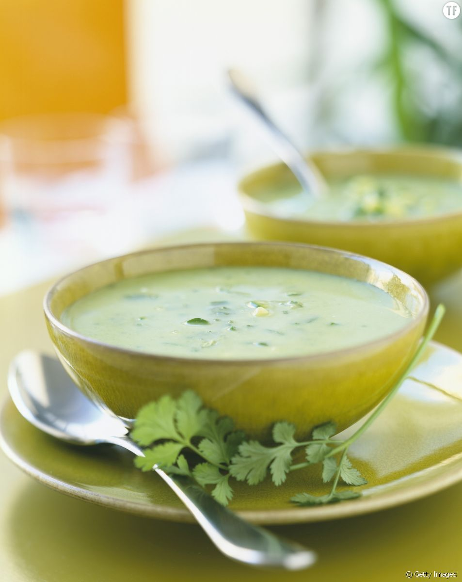 La recette facile de la soupe à la courgette