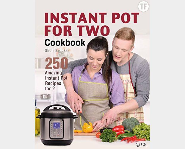 """La couverture d'un des livres """"Instant Pot For Two"""""""