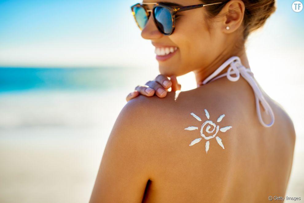 Crème solaire non-polluante
