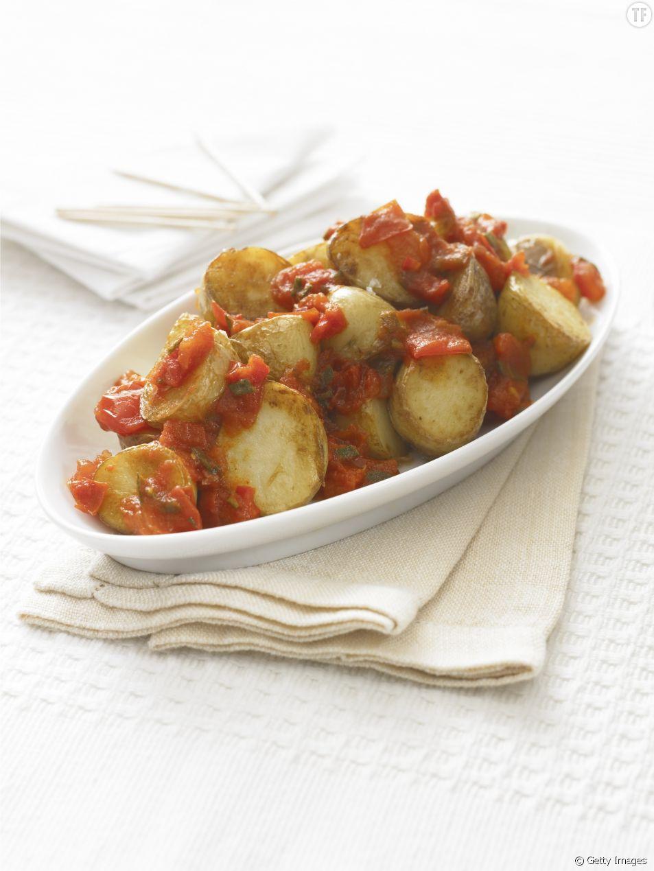 La recette des patatas bravas