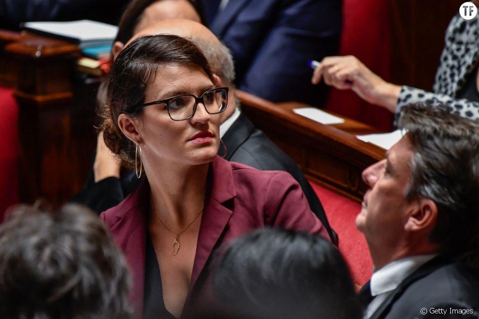 Marlène Schiappa à l'Assemblée Nationale