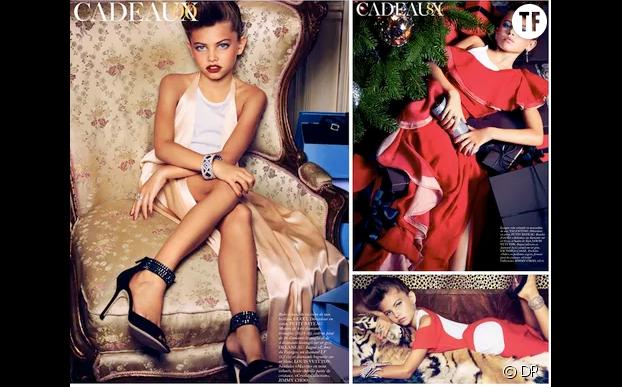 Thylane Blondeau, Vogue, 2011