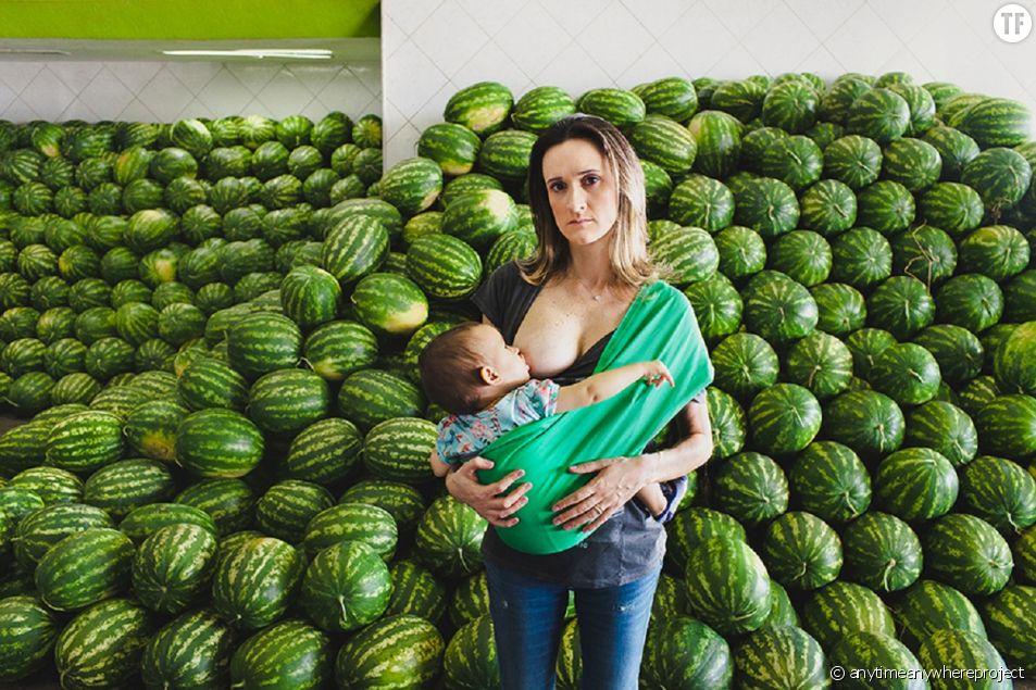 """""""Anytime, anywere"""" : la campagne de sensibilisation pour promouvoir l'allaitement"""