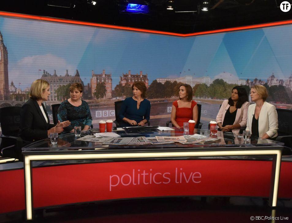 Le panel de Politics Live lundi 3 septembre 2018