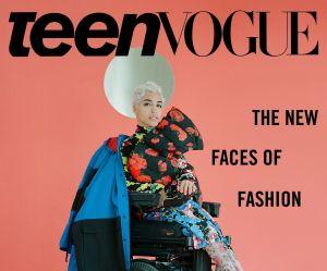 """Ces trois mannequins handicapées font la couverture de """"Teen Vogue"""" (et ça fait du bien)"""