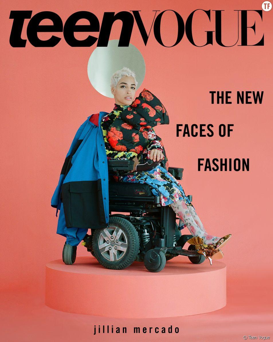 Ces trois mannequins handicapées font la une de Teen Vogue