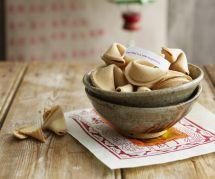 La recette facile pour faire mes propres fortune cookies