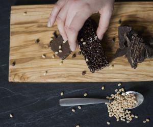Comment faire une barre de Crunch en deux ingrédients