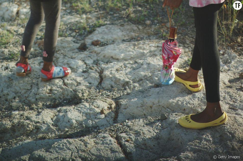 Des filles au Kenya